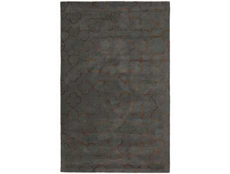 Surya Essence Rectangular Gray Area Rug