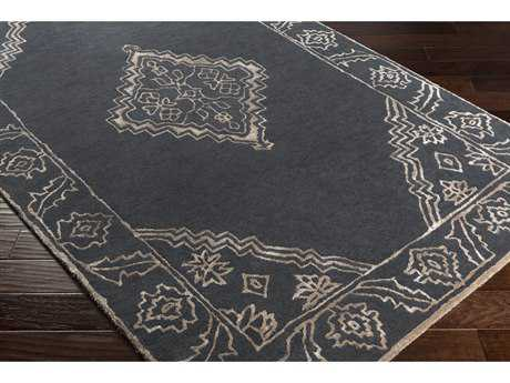 Surya Essence Rectangular Charcoal Area Rug