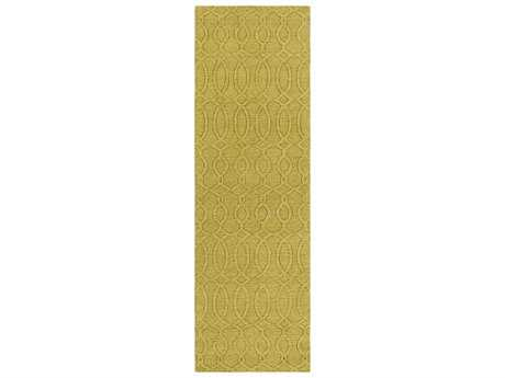 Surya Etching 2'6'' x 8' Rectangular Olive Runner Rug