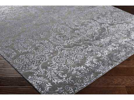 Surya Etienne Rectangular Black Area Rug