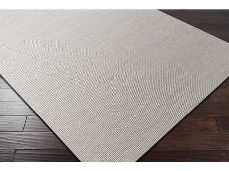 Surya Everett Rectangular Taupe, Light Gray & White Area Rug