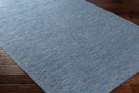 Surya Everett Rectangular Dark Blue, Black & Light Gray Area Rug