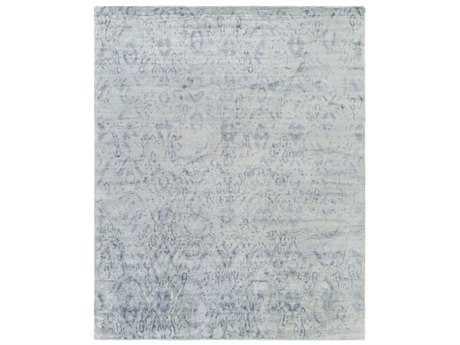 Surya Exaltation Rectangular Light Gray & Medium Gray Area Rug