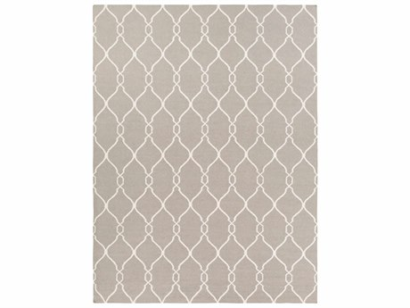 Surya Fallon Rectangular Gray Area Rug