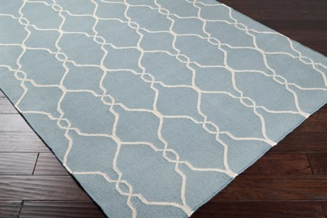 Surya Fallon Rectangular Blue Area Rug