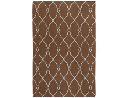 Surya Fallon Rectangular Brown Area Rug
