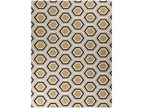 Surya Fallon Rectangular White Area Rug