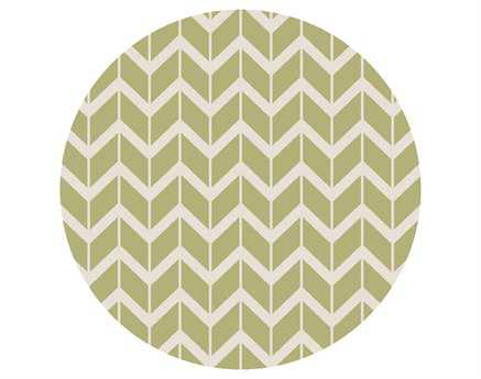 Surya Fallon 8' Round Green Area Rug