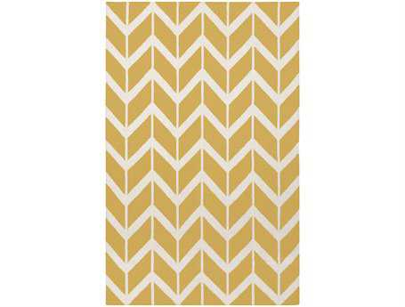 Surya Fallon Rectangular Yellow Area Rug