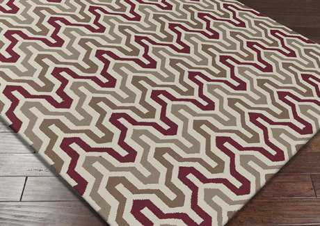 Surya Fallon Rectangular Purple Area Rug