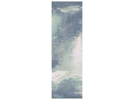 Surya Felicity 2'6'' x 8' Rectangular Sky Blue Runner Rug