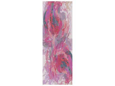 Surya Felicity 2'6'' x 8' Rectangular Hot Pink Runner Rug