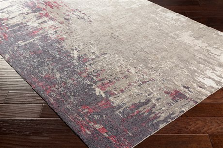Surya Felicity Rectangular Light Gray Area Rug