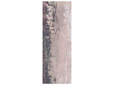 Surya Felicity 2'6'' x 8' Rectangular Light Gray Runner Rug