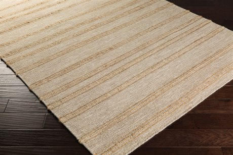 Surya Fiji Rectangular Ivory & Wheat Area Rug