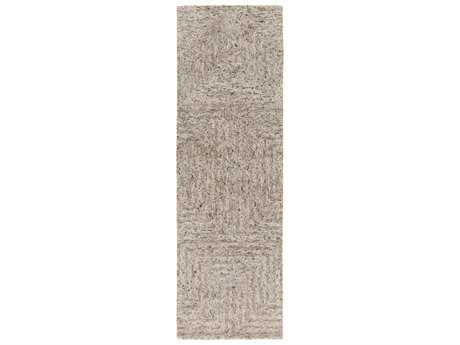 Surya Falcon 2'6'' x 8' Rectangular Light Gray Runner Rug