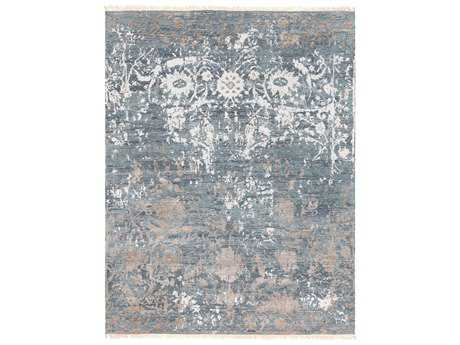 Surya Flen Rectangular Light Gray & Taupe Area Rug