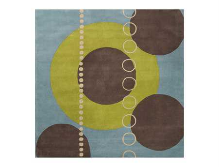 Surya Forum Square Green Area Rug