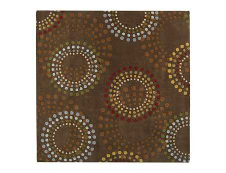 Surya Forum Square Brown Area Rug