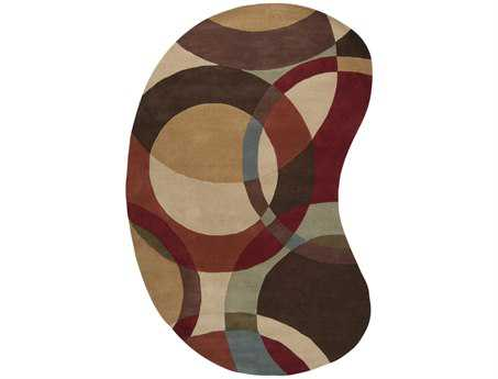 Surya Forum Kidney Beige Area Rug