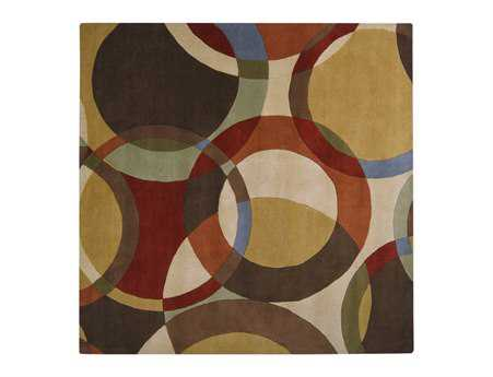 Surya Forum Square Beige Area Rug