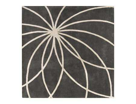 Surya Forum Square Gray Area Rug