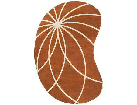 Surya Forum Orange Area Rug