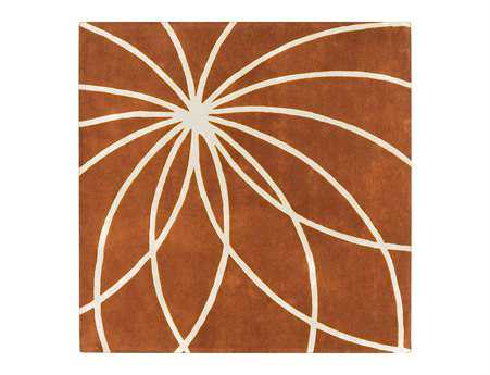 Surya Forum Square Orange Area Rug