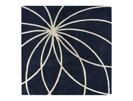 Surya Forum Square Blue Area Rug