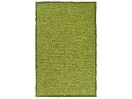 Surya Finley Rectangular Dark Green & Lime Area Rug