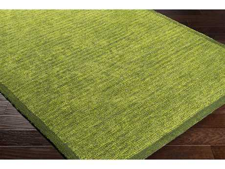 Surya Finley Rectangular Dark Green & Lime Area Rug