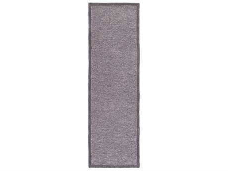 Surya Finley 2'6'' x 8' Rectangular Charcoal & White Runner Rug