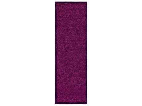 Surya Finley 2'6'' x 8' Rectangular Violet & Bright Pink Runner Rug