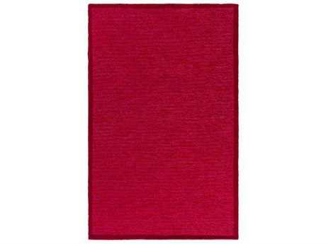 Surya Finley Rectangular Garnet, Bright Red & Bright Pink Area Rug