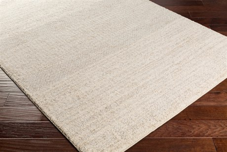 Surya Fowler Rectangular Ivory, Light Gray & Camel Area Rug