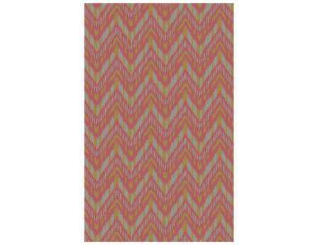 Surya Front Porch Rectangular Pink Area Rug