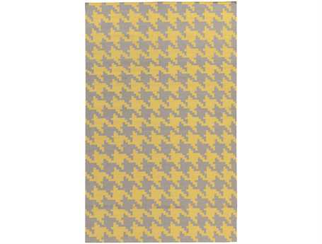 Surya Frontier Rectangular Yellow Area Rug