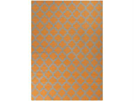 Surya Frontier Rectangular Orange Area Rug