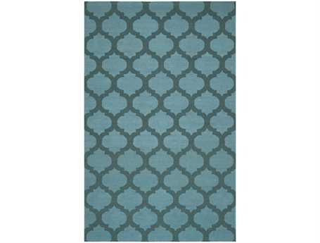 Surya Frontier Rectangular Blue Area Rug
