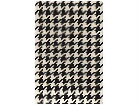 Surya Frontier Rectangular White Area Rug