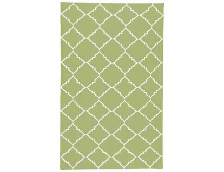 Surya Frontier Rectangular Green Area Rug
