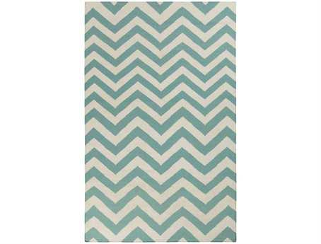 Surya Frontier Rectangular Teal Area Rug