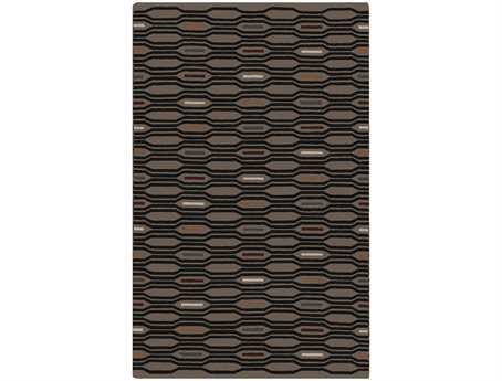 Surya Frontier Rectangular Gray Area Rug