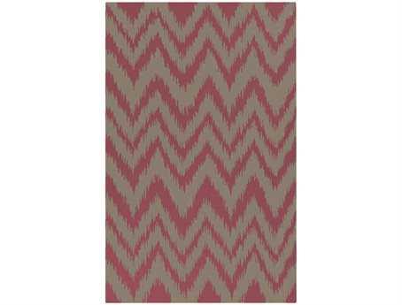 Surya Frontier Rectangular Pink Area Rug