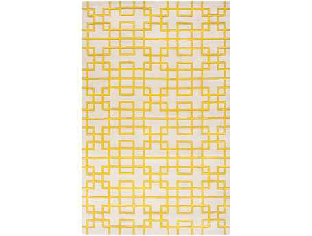 Surya Goa Rectangular Yellow Area Rug