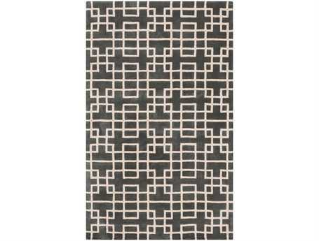 Surya Goa Rectangular Gray Area Rug