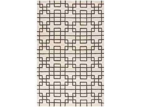 Surya Goa Rectangular White Area Rug