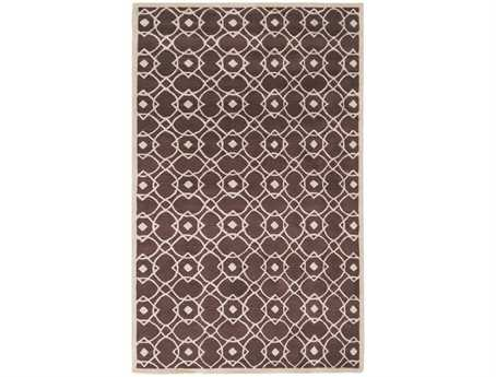 Surya Goa Rectangular Brown Area Rug