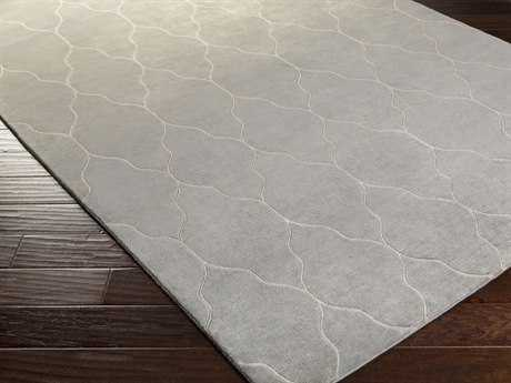 Surya Gates Rectangular Light Gray Area Rug