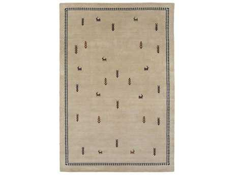 Surya Gava Rectangular Khaki, Black & Dark Brown Area Rug